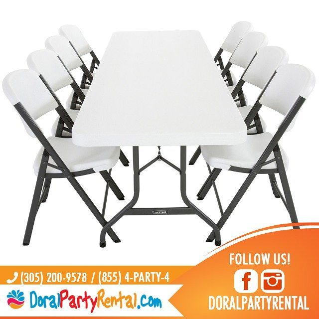 Tables Chairs Tents Doral Party Rental